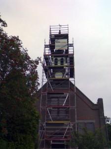 Renovatie Natuurstenen Leien Kerktoren Zuidwolde-GN